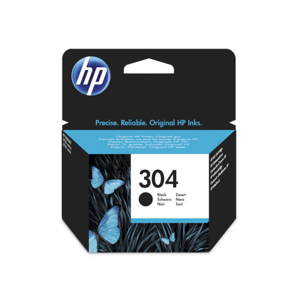 HP 304 Nero cartuccia d'inchiostro originale N9K06AE
